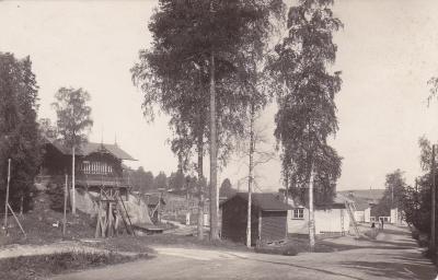 Kymintehtaan kansakoulu eli ns. Mäkikoulu Öljymäellä